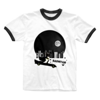 BADNYAN Ringer T-shirts