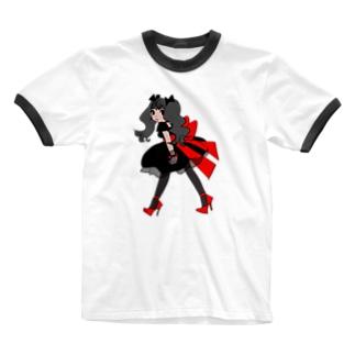 ゆいちゃん Ringer T-shirts