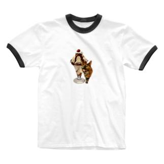 No.6 そぼろちゃん♪ Ringer T-shirts
