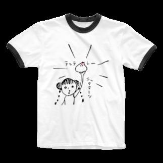 nicospyderのニックマーン Ringer T-shirts