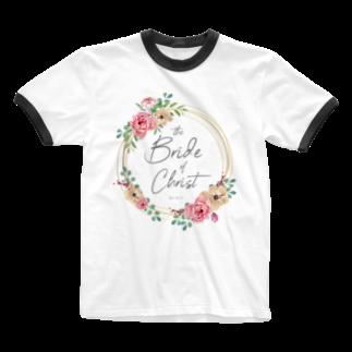 一羽のすずめのthe Bride of Christ Ringer T-shirts