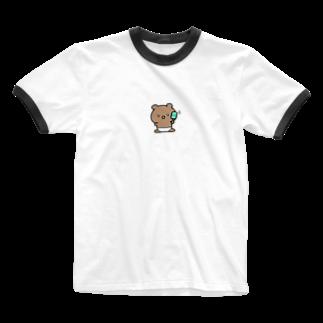 てぃのくまのあかちゃん Ringer T-shirts