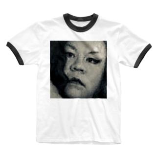 SADAHARU HIGA HAUTE COUTURE・アムロにはなれなかったけどトシミにはなれた女装2。  Ringer T-shirts