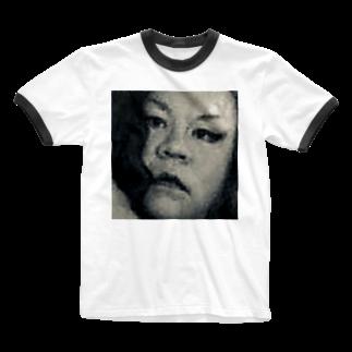 SADAHARU_ HIGA_HAUTE COUTREのSADAHARU HIGA HAUTE COUTURE・アムロにはなれなかったけどトシミにはなれた女装2。  Ringer T-shirts