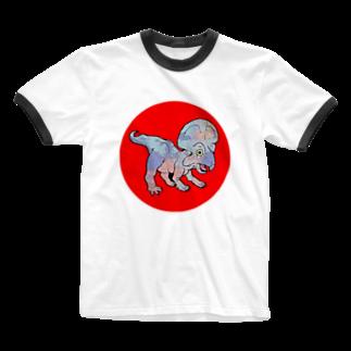 佐藤 のりよし(ニョリ画)のニョリ画のいろいろ Ringer T-shirts