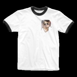 A-craft工房のううこ Ringer T-shirts