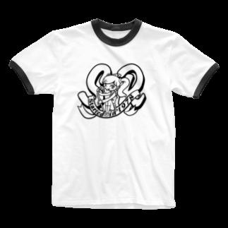 Toho-TのSR。 Ringer T-shirts