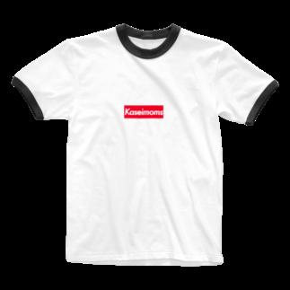 shishimairmkのkaseimoms Ringer T-shirts