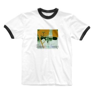夏用 Ringer T-shirts