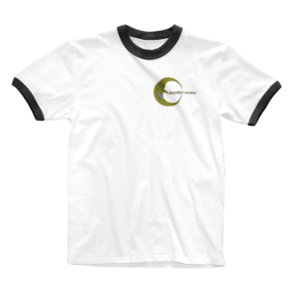 NOMAD-LAB The shopの月下美人(Beautiful woman) Ringer T-shirts