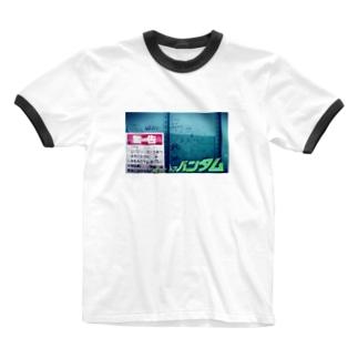 グラフィックコラージュ Ringer T-shirts