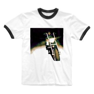 悪童くん Ringer T-shirts