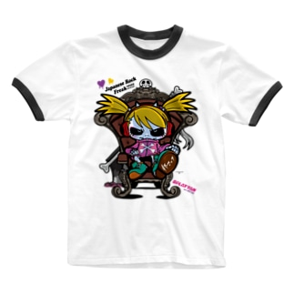 Tシャツ『座りスプラッたん』 Ringer T-shirts