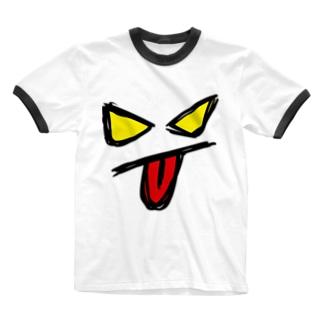 悪い芝居物販部・15周年企画 Ringer T-shirts