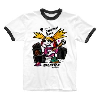 Tシャツ『シャウト スプラッたん』 Ringer T-shirts