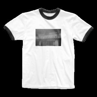 LotuswestのCorpo Fuminosato  Ringer T-shirts