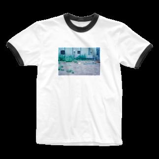 LotuswestのDead umbrella Ringer T-shirts