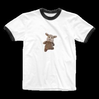 ncncccncのキメこた Ringer T-shirts