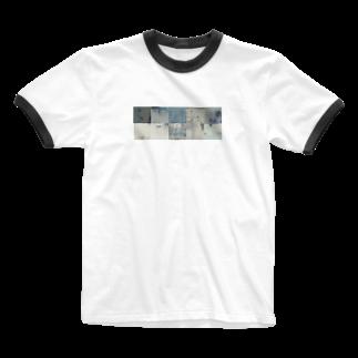 asa-chanの無題 Ringer T-shirts