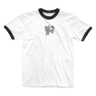 飼い主のらくがきラックさん Ringer T-shirts