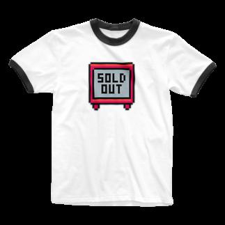 カットボスのSOLD OUT Ringer T-shirts