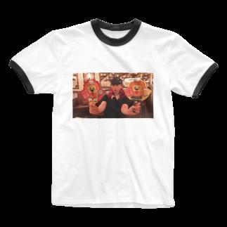 並列思考🥝🍨の8/4 Ringer T-shirts