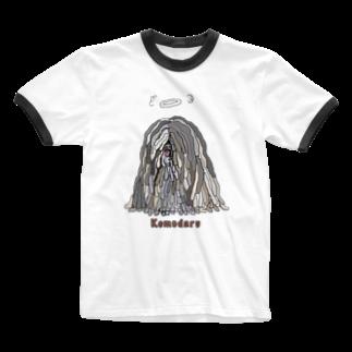 光平洋子の天使のかしこいプーリー犬 Ringer T-shirts