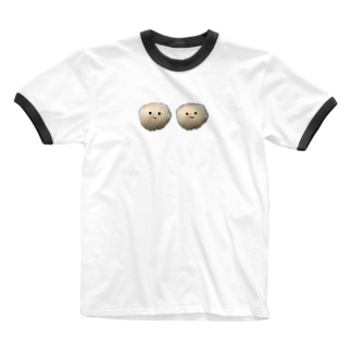 Unoのモサモサピーポーー Ringer T-shirts