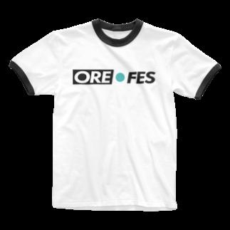 のぶお🦁鹿児島の巨人の俺フェス Ringer T-shirts