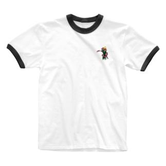 ミミ束 Ringer T-shirts