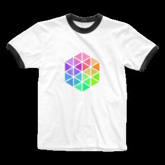 Seitaroの@Seitaroのアイコン Ringer T-shirts