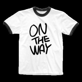 Souzen の道 Ringer T-shirts
