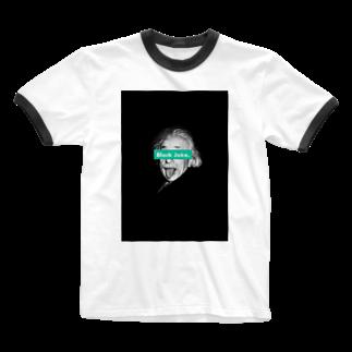 IKYAKIITADAKIのブラックジョーク Ringer T-shirts