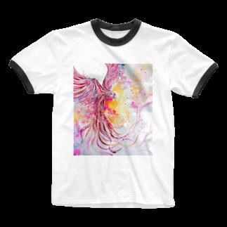 AWESOME CLOUDのtori Ringer T-shirts