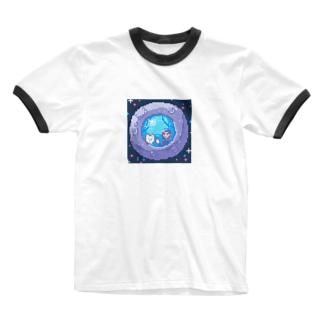 さよなら地球のみなさん Ringer T-shirts
