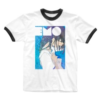 TYPE:)FACE emoji Ringer T-shirts