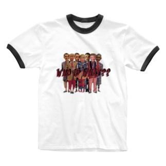 オバマVSトランプ Ringer T-shirts