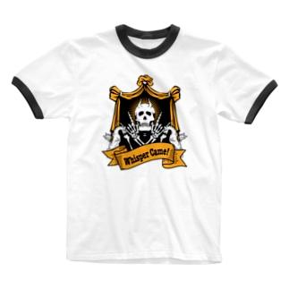 囁きが来た Ringer T-shirts