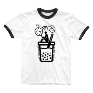 HARAJUKU'19 シリーズ Ringer T-shirts