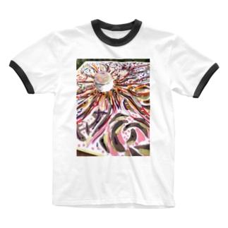 浄化と幸せ、満ちる。 - 瀬織津姫と供に - Ringer T-shirts