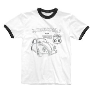 茨城弁シリーズ6 Ringer T-shirts