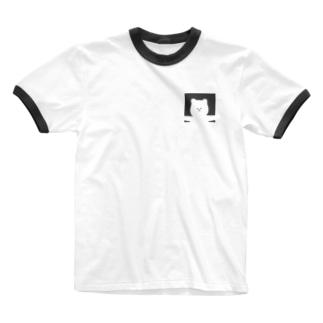もねたん Ringer T-shirts