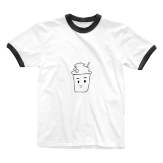 くりーむそーだ Ringer T-shirts