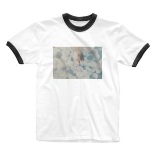 曖昧 Ringer T-shirts