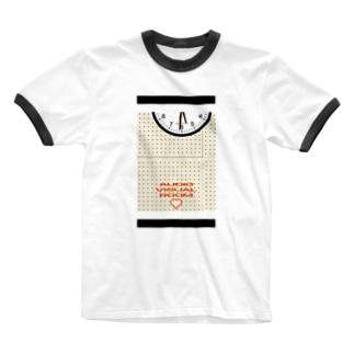 放課後の視聴覚室 Ringer T-shirts