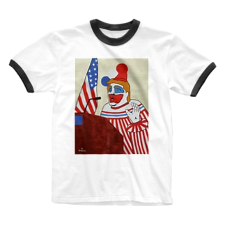 愉快犯 Ringer T-shirts