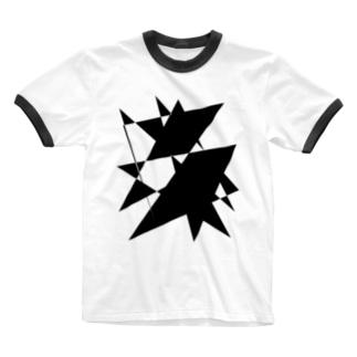 プリズム Ringer T-shirts