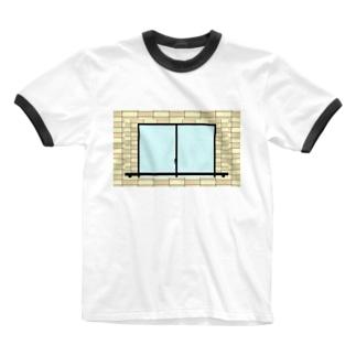 ベランダ Ringer T-shirts