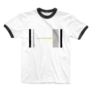 アメリカンドッグの棒 Ringer T-shirts
