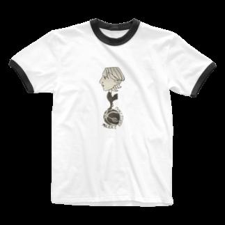 ララフランボイル蚤の市(仮)の戻ルッチ Ringer T-shirts
